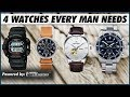 4 WATCHES Every Guy NEEDS to OWN Right NOW | MUST HAVE Watches for Indian Men | Mayank Bhattacharya