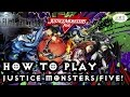 Final Fantasy 15 - How to Play: Justice Monsters Five!