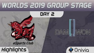 AHQ vs DWG Highlights Worlds 2019 Main Event Group Stage AHQ eSports Club vs Damwon Gaming by Onivia