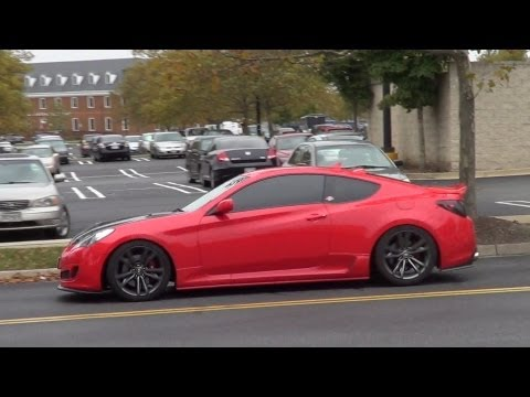 Hyundai Genesis 2.0 T TurboX Catback Revs and accelerations