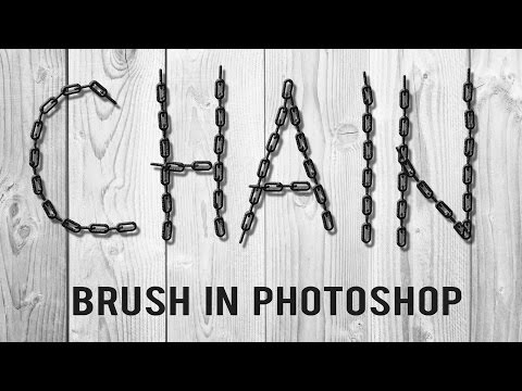 How to Make a Chain Brush in Photoshop - YouTube