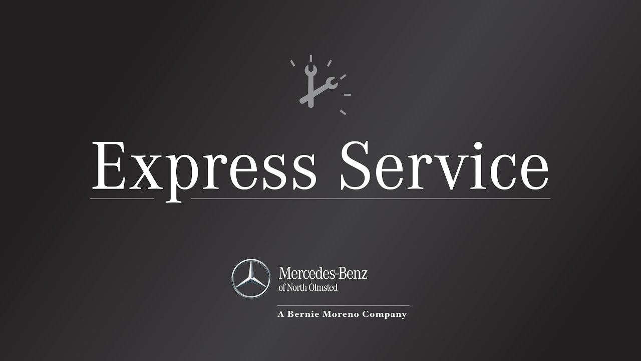 Express service at mercedes benz of north olmsted youtube for Schedule c service mercedes benz