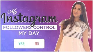 My Instagram followers control my day! | Gauahar Khan