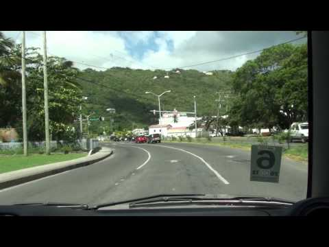 Driving Tortola, BVI  Part 3