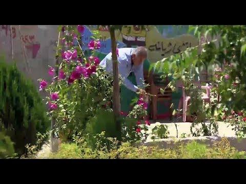 هذا الصباح- حدائق صغيرة تزين منازل لاجئي مخيم دوميز