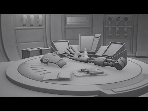 CGI Short - Cybernetic Workshop - Uni - Semester 2 - Low Poly - Room Concept