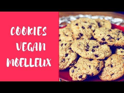 cookies-vegan-moelleux:-peanut-butter-&-chocolat-|-cosy-winter