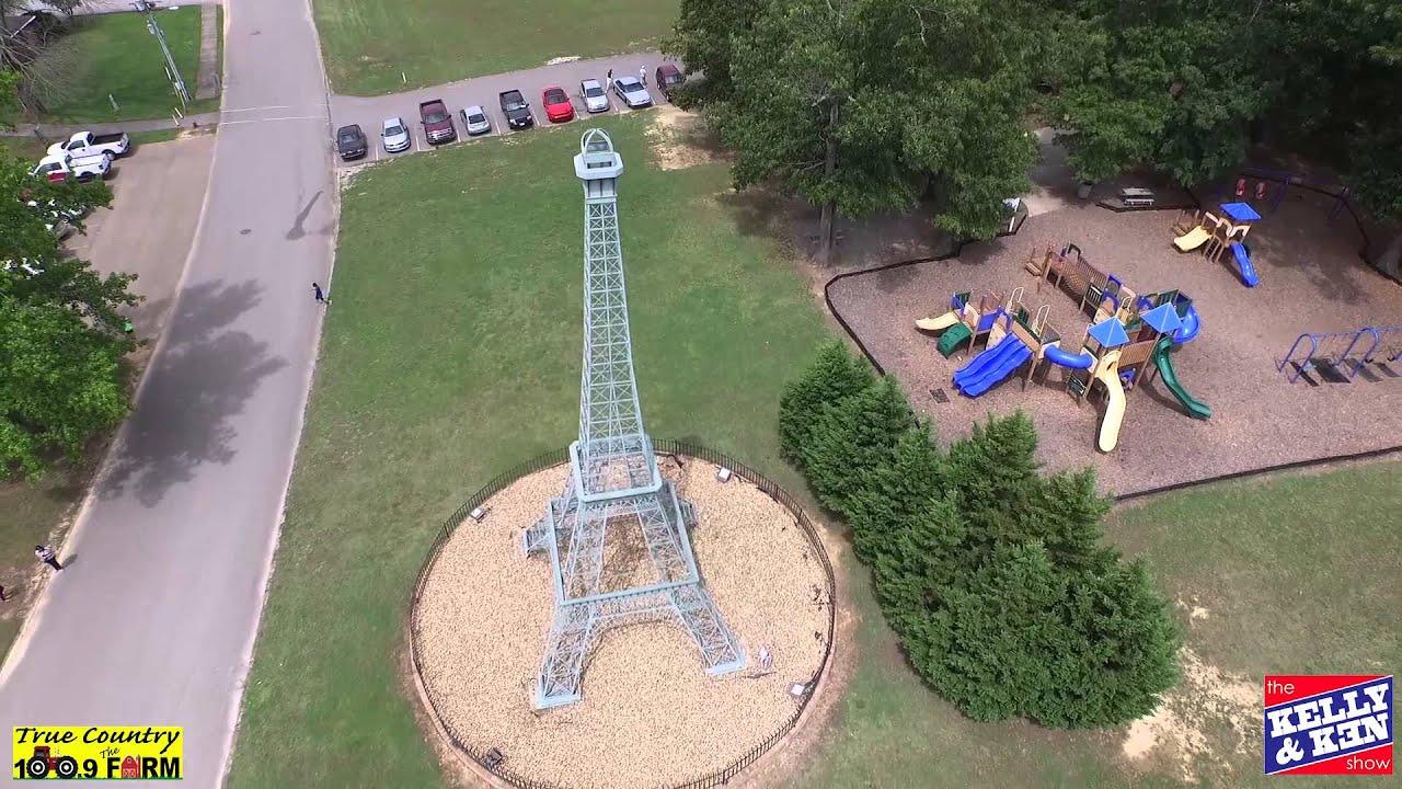 Eiffel Tower Replica in Paris, TN - YouTube