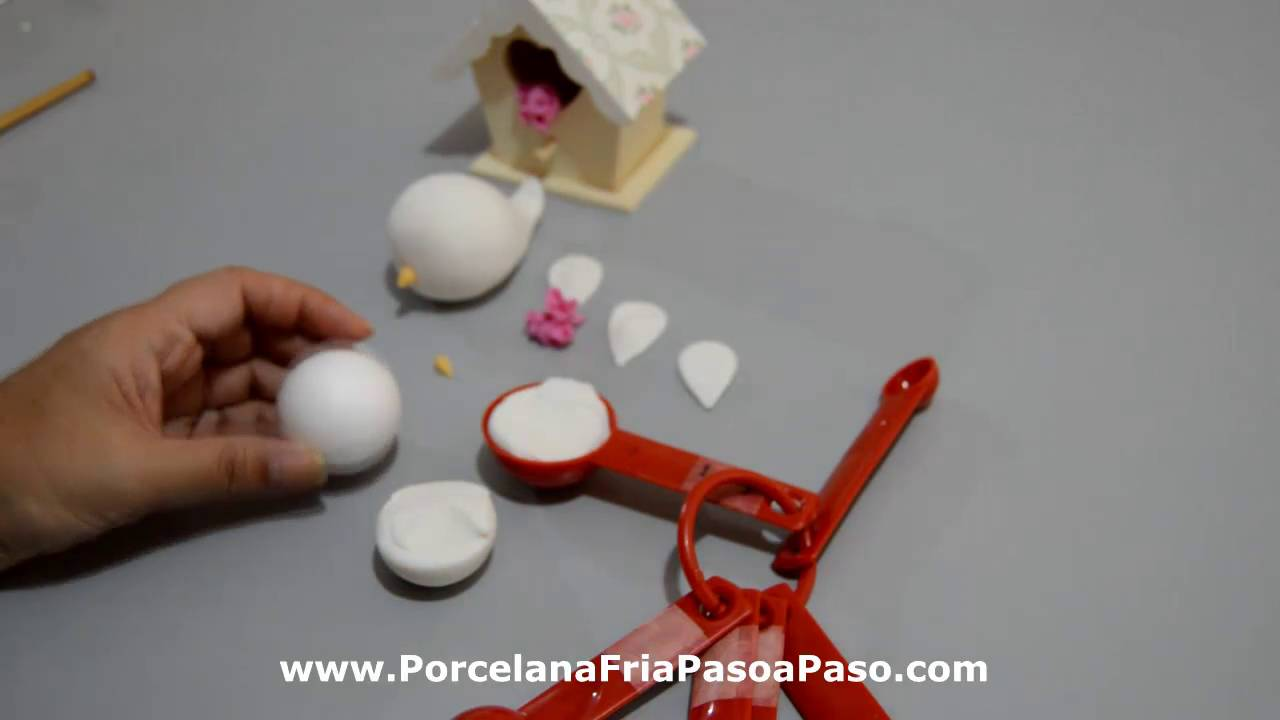 Pajaritos de porcelana fria youtube - Como hacer un estor enrollable paso a paso ...