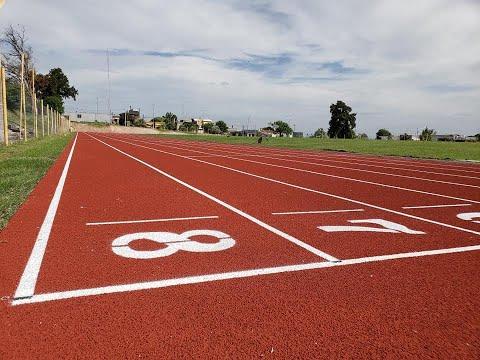 Inauguración de la Pista de Atletismo en Paysandú
