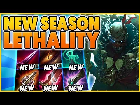 *NEW SEASON 10 ITEMS* FULL LETHALITY REWORK (GAMEPLAY) - BunnyFuFuu