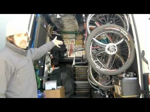 life in a sprinter van on the road to awesome youtube. Black Bedroom Furniture Sets. Home Design Ideas