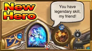 Hearthstone: New Druid Hero Elise Starseeker! Saviors of Uldum New Expansion!