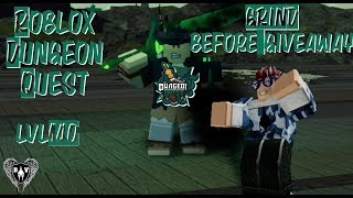 Lvl 140 Roblox Dungeon Quest 🗡️Ghastly Harbor!🗡️ grind