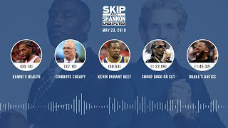 UNDISPUTED Audio Podcast (05.23.19) with Skip Bayless, Shannon Sharpe & Jenny Taft | UNDISPUTED
