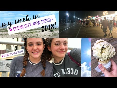 Ocean City NJ Travel Vlog 2018!    Haley Rose Vlog #8