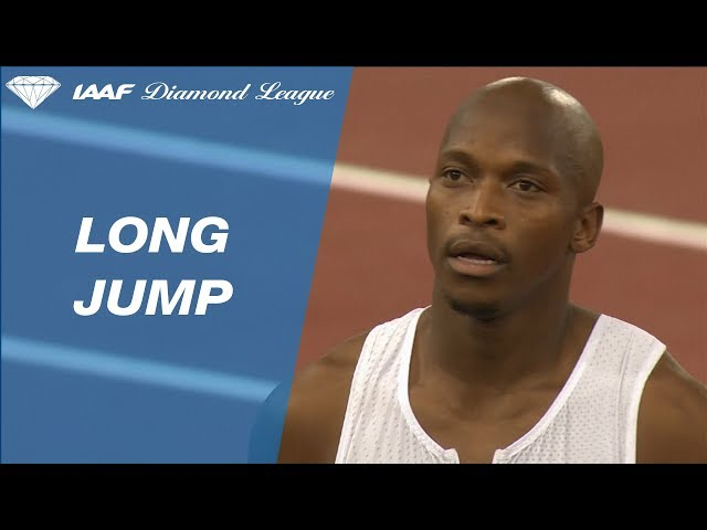Luvo Manyonga Wins Men's Long Jump - IAAF Diamond League Rome 2018