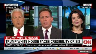 CNN panel erupts over Trump's credibility