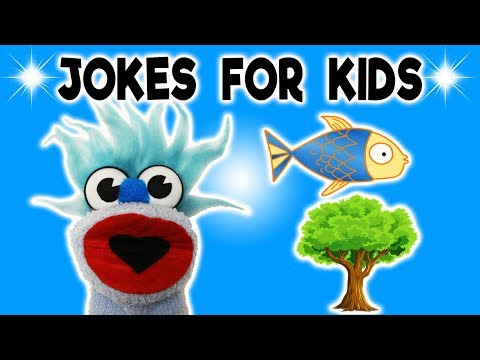 FUNNY FISH JOKE! - JOKES FOR KIDS! 100% Child-Appropriate Jokes! CRAZY FUNNY! Fizzy! Sock Puppet!