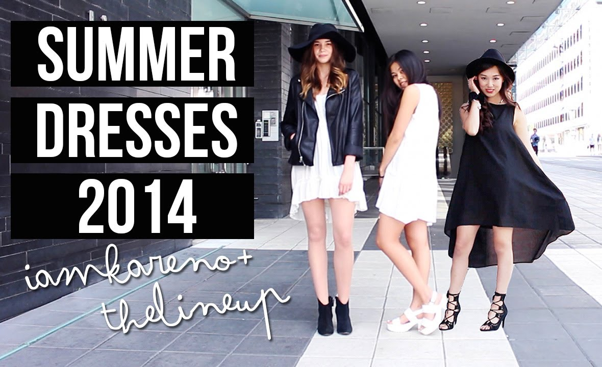 7129029c8226d6 Monochrome Summer Dresses ft. TheLineUp - YouTube