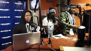 Hit-Boy Plays 3 Never-Before-Heard Beats While Audio Push Freestyle on Sway in the Morning