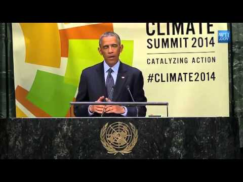 Obama Urges UN To Act On Climate Change - Full Speech
