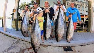 2014Oct17 Yellowfin Tuna Fishing at Thunderhorse on the UnReel