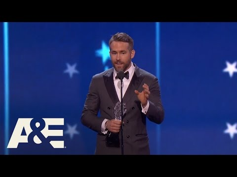 Ryan Reynolds Wins Best Actor in a Comedy   22nd Annual Critics' Choice Awards   A&E