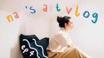 Art Vlog 4 // let's get productive and make some art