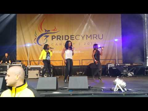Eternal : Stay - live @PrideCymru 16.08.14