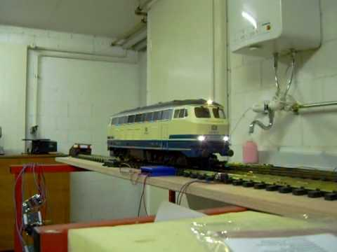 G Scale Piko BR 218 Sound Test