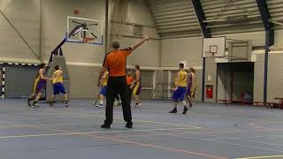 7 december 2019 Jump MSE1 vs Rivertrotters MSE2 72-79 3rd period
