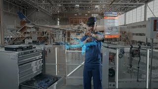 Airbus drives innovation and accelerates production with Azure mixed reality and HoloLens 2