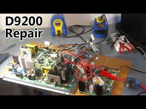 D9200 Arcade Monitor REPAIR Wells Gardner CRT 27D9200 Shaking Fix Solder  Electronics
