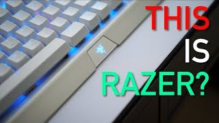 A WHITE Razer Keyboard? BlackWidow X Chroma Mercury Edition Review