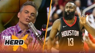 Colin Cowherd on Raptors' mental fatigue, Rockets' failures and Thunder's Westbrook | NBA | THE HERD