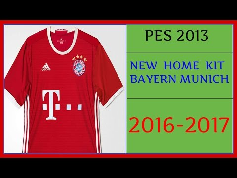 PES 2013 | NEW HOME KIT BAYERN MUNICH • 2016-2017