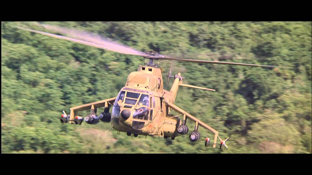 Rambo 2 Heli scene - YouTube
