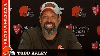 Todd Haley: We have to find solutions to problems | Cleveland Browns Press Conference