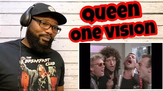 Queen - One Vision | REACTION
