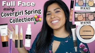 Hey Lovelies! Full Face First Impressions Using NEW Covergirl Sprin...
