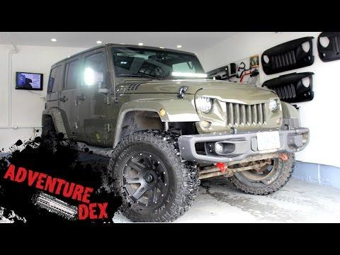 2016 Custom Jeep Wrangler Sahara Walk-Around! Lots of Mods!