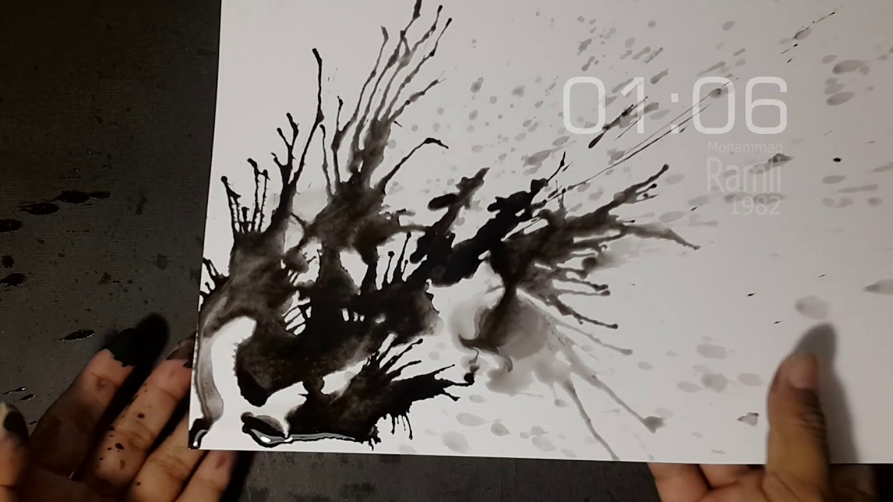 Cukup 2 Menit Melukis Abstrak Art Abstract Youtube