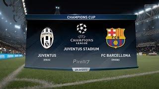Juventus fc vs fc barcelona |champions league 11/04/2017| fifa 17 predicts - by pirelli7