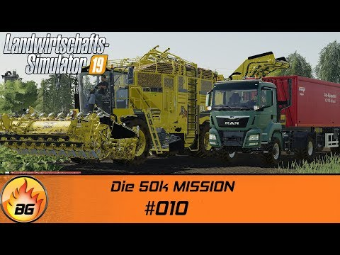 LS19 - NF MARSCH #010   Die 50k MISSION   FS19   Lets Play [HD]