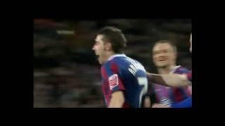 Darren Amborse 37 Yard Free Kick Crystal Palace Crystal Palace V Aston Villa