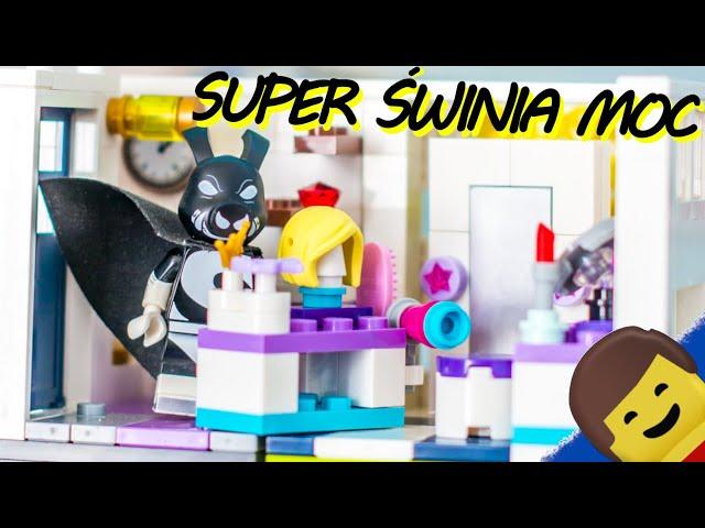 LEGO LOONEY TUNES MOC : Super Świnia i jej jaskinia