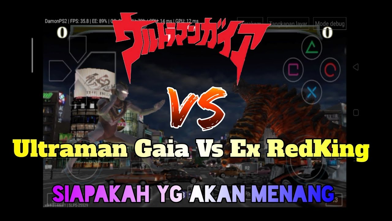 Ultraman Gaia Vs Ex RedKing || Ultraman FE REBIRTH