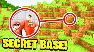 - Minecraft WE FOUND THE INCREDIBLES SECRET BASE Ps3 Xbox360 PS4 XboxOne PE MCPE