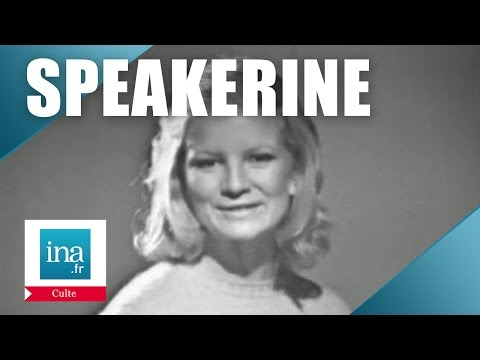 Speakerine 1971 Les tests de Nicole Garcia | Archive INA